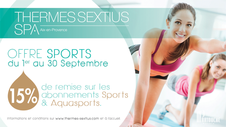 [TERMINE] OFFRE SPORTS