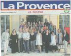 La Provence 15/09/2012
