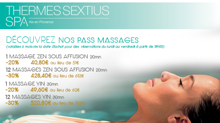 [PROMOTION] Pass Massage